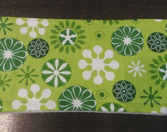 Green Floral Male Dog Belly Band - S
