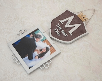 Personalized Picture Frame Personalized Gifts for Dad Birthday Gift for Him Gift for Husband Anniversary Gifts
