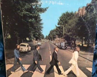 Original Beatles Abbey Road 33 LP Album