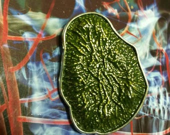 Rare Moldvite Style Crystal Pin LE 100