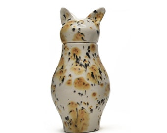 Basst Cat Urn- Calico