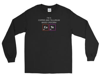 Cute Chemistry Pun Long Sleeve T-Shirt
