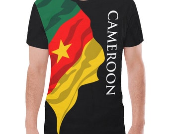 Cameroon Men's Classic Flag Shirt 2.0 0qp12ugy