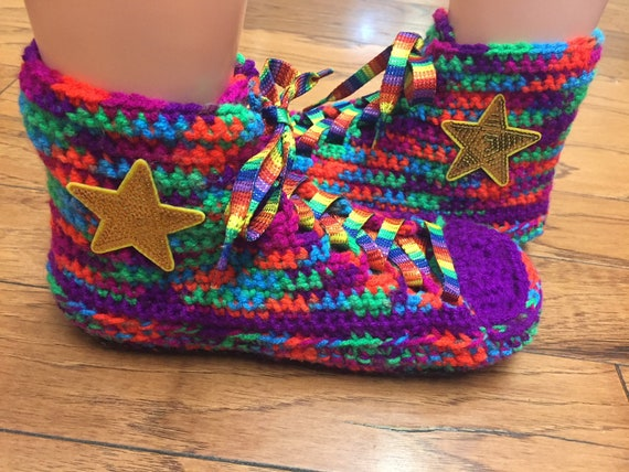 75c589ee5bdedc rainbow high shoe rainbow tennis 337 tops converse crocheted 8 inspired top  List sneaker converse 10 ...