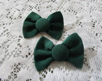 Vintage Green Shoe/Dress Clips