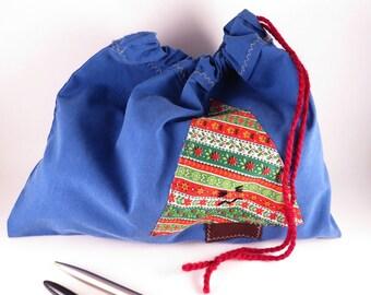 Christmas Gift Bag #2 - Appliqued Gift Bag