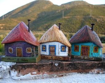 Cabaña de madera reutilizada, Reused wood cabin.//Se hacen por encargo//They are made to order