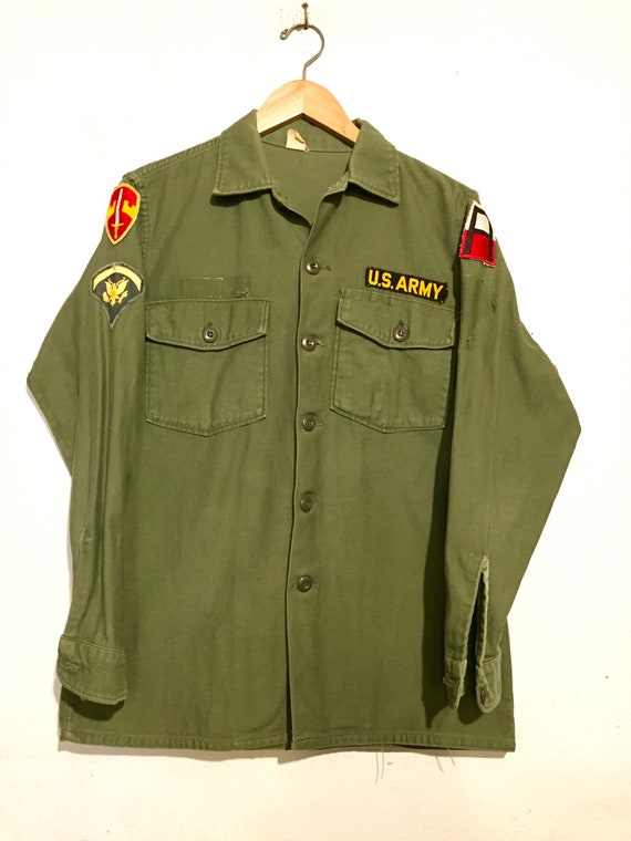 U.S. Army Jacket with Patches