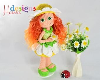 Crochet Pattern - Daisy Doll (Amigurumi Doll Pattern)