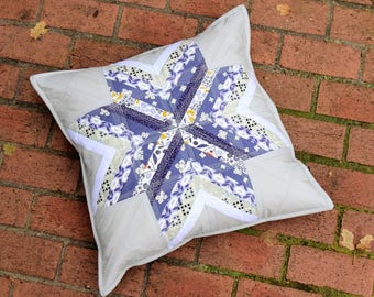 Winter Snowflake Pillow Cover