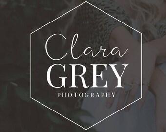 Logo Design |Photography Logo and Watermark | Photography Branding Kit | Photography Watermark | Premade Logo | Watermark Design