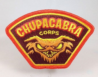 Chupacabra Corps embroidered patch