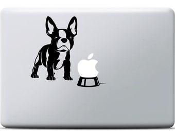 French Bulldog MacBook Sticker | Frenchie | Vinyl Bulldog Decal | MacBook Sticker Animal | MacBook Pro Sticker | MacBook Air Sticker