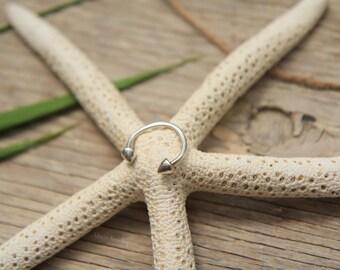 Silver Open Cuff Ring