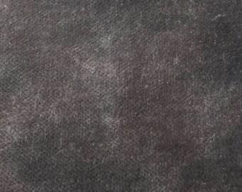 1/8 yard Da Vinci's Charcoal velvet by From the Cauldron
