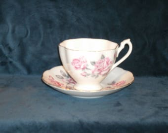 Queen Anne teacup and saucer