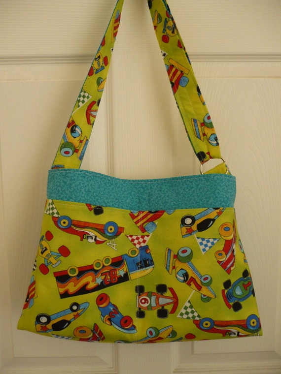 Let's Race! Adjustable Diaper Bag