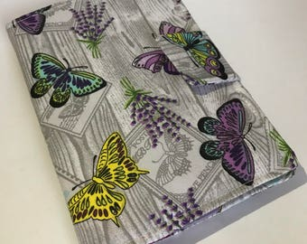 E-reader Case, Kindle Paperwhite Cover, Kindle case, E-book Reader Cover, E-reader case, Case for any ereader, Butterflies design