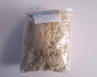 Washed White Tunis Fleece