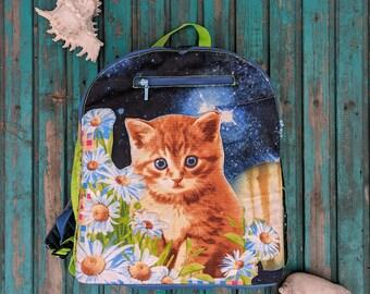 Backpack FlowerKitty Ragbag