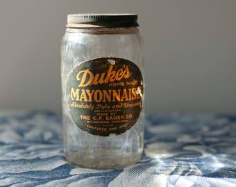 Duke's Mayo Photo, Kitchen Photo, Kitchen Wall Art, Kitchen Decor, Dining Room Wall Art, Restaurant Decor