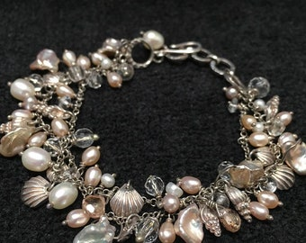 Bracelet ~ Treasures from the Sea, Whimzical Mystical Madness