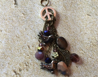 Peace Pendant, For Her, Womens Jewelry, Peace, Pendant, Gift Ideas, Statement