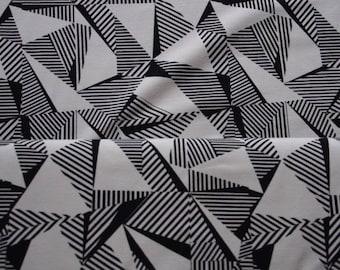 ORGANIC Jersey - black / white