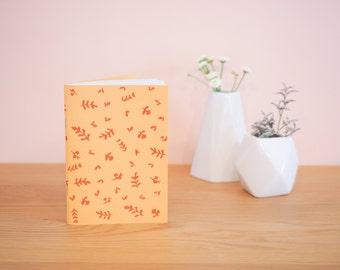 Vegetation - mustard yellow notebook