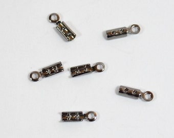 2mm Gunmetal Crimps - Choose Your Quantity