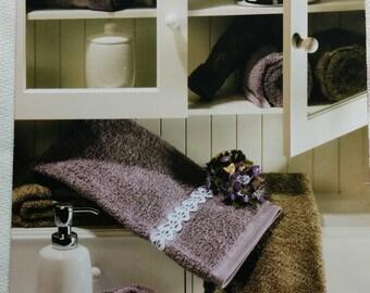 Thread Crochet Exciting Edgings Coats & Clark Book 0707