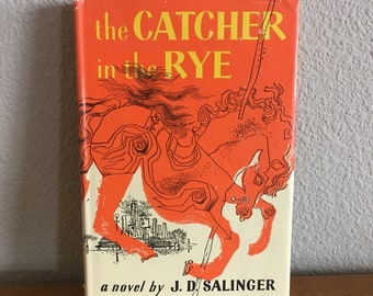 1950's Book Club Edition of The Catcher in the Rye, by J.D. Salinger