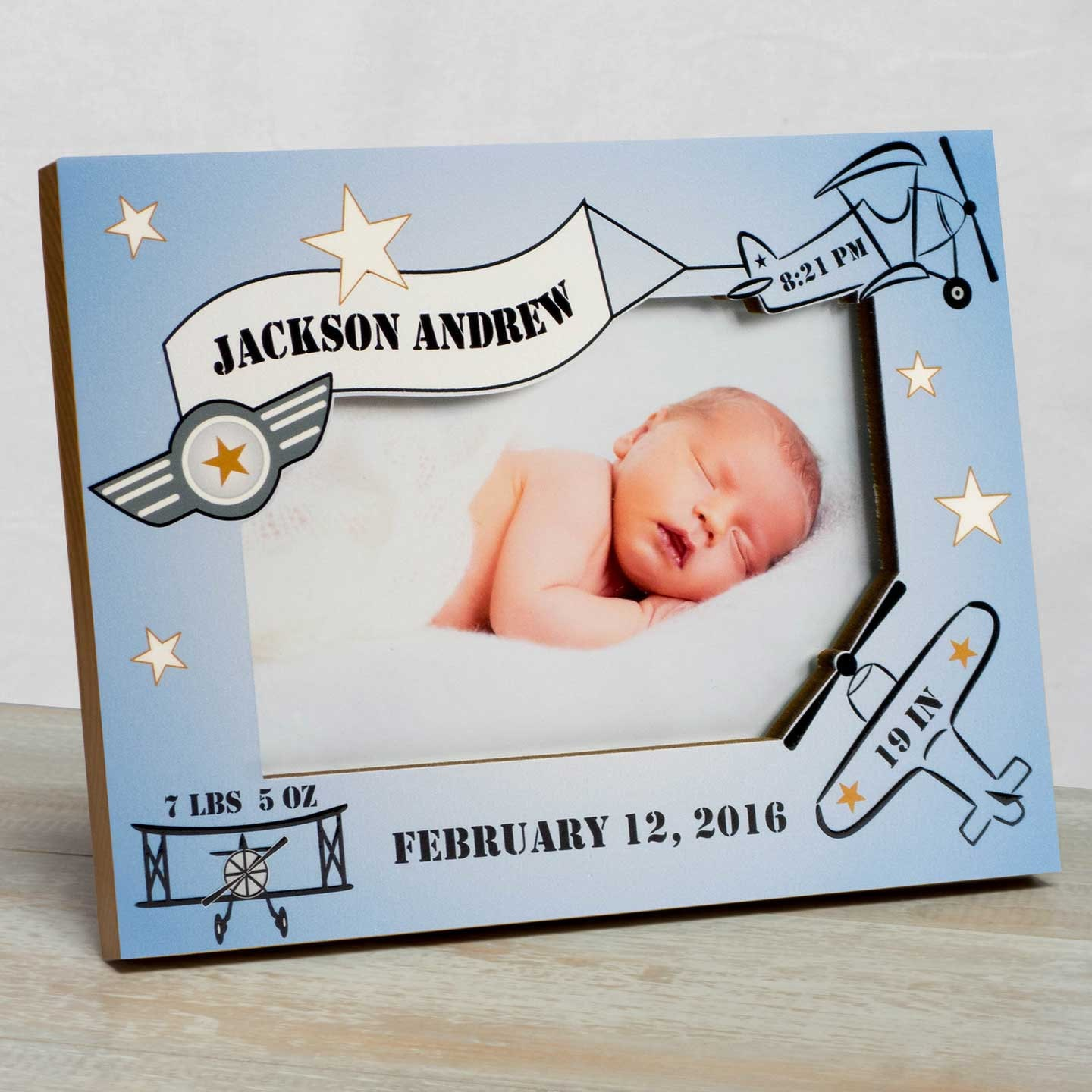 Personalized baby picture frame baby frame for boys baby boy 3899 jeuxipadfo Images