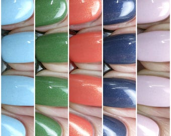 Paradise Found Nail Polish Collection Bath Beauty Gift Under 50 Gift For Her Pepper Pot Polish