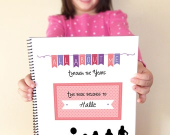 All About Me Book // Yearly Interview Questionnaire for Kids