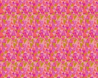 Sweet Dreams by Anna Maria Horner for Free Spirit - Garden Prism - Candy - 1/2 yard Cotton Quilt Fabric