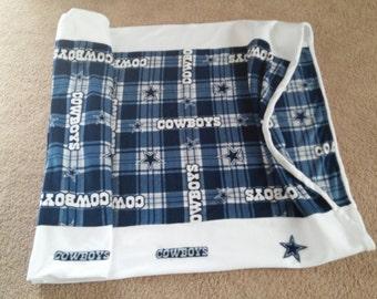 Sports Fleece Bag, Football Theme, Packers Sack, Husband Quilt, Cowboy Sleep Sack, Seahawk Quilt, Girls Blanket, Child Sleepover, Boy Gift