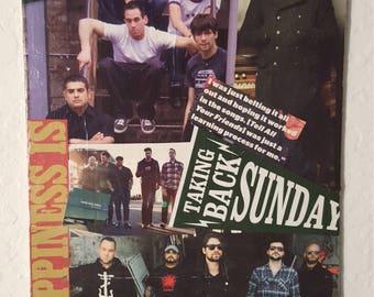 Taking Back Sunday collage