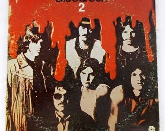 Blood Rock 2 Ft Worth Texas 1970 Vinyl LP Record ST 491