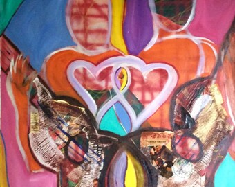 Heartstrings in Sacred Fire
