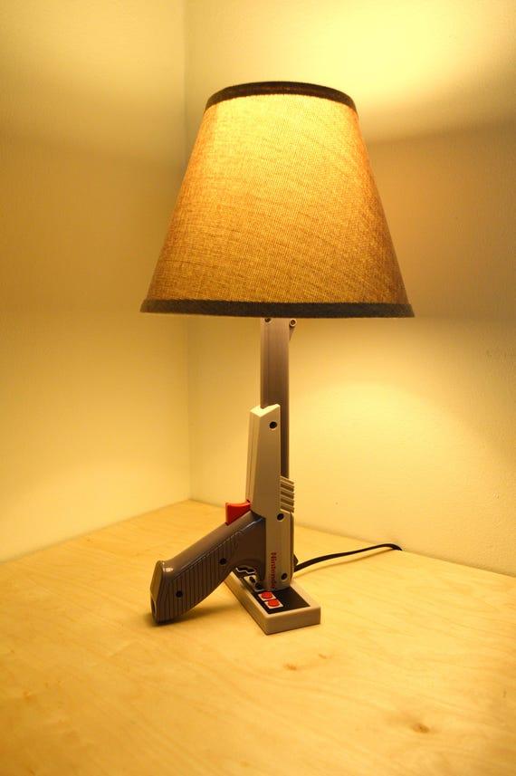 Nes nintendo zapper desk lamp light gun nintendo zapper gray aloadofball Image collections