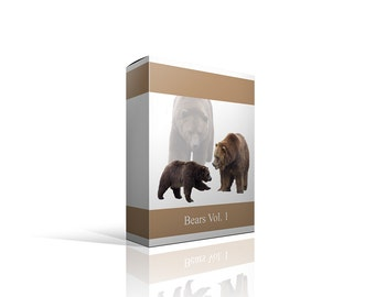 Real Bears Png Photoshop Files    FLASH SALE
