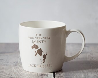Jack Russell Mug - Jack Russell Gift - Jack Russell Terrier - Coffee Mug - Hostess Gift - Thank you Gift - Birthday Present - Gifts for Him