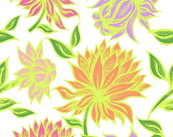 Cameron Tropical Fabric by the Yard