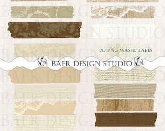 WOOD Digital WASHI TAPE:Rustic Wood Washi Tape, Lace Washi Tape, png Burlap Washi Tape, Washi Tape for Scrapbooking and Card Making, #14061