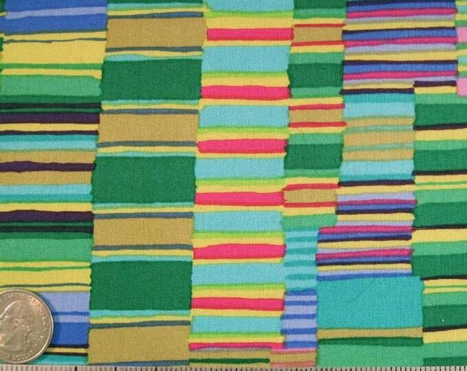 Kaffe Fassett SHIRT STRIPES Green Gp51 Quilt Fabric - by the Yard, Half Yard, or Fat Quarter Fq - Out of Print