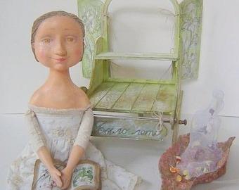 """Art Doll - """"It was summer""""  OOAK"""