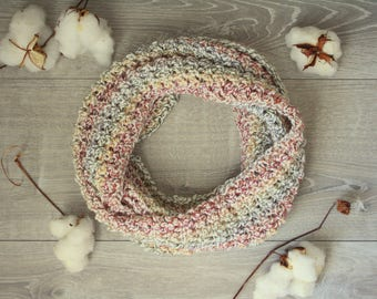 Men's or Women's Cobblestone Favorite Infinity Scarf