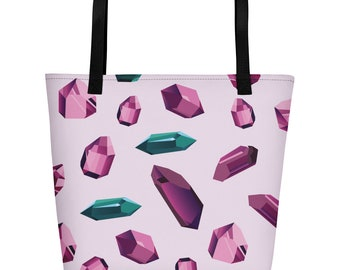 Quartz Crystal Beach Bag