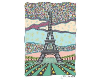 Paris Art Print - Jennifer Reid